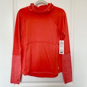 LAYER 8 Performance Cold Weather Hoodie Coral NWT!